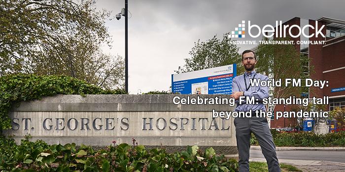 World FM Day 2021 Michael Sullivan St George's Hospital NHS Trust